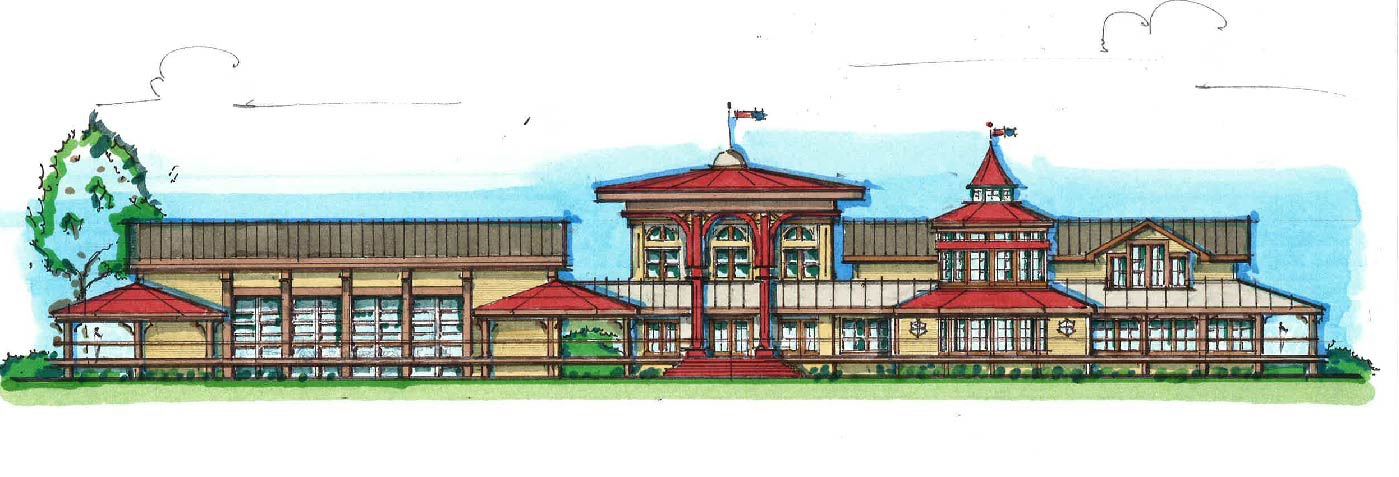 Architectural drawing for US Sugar Depot